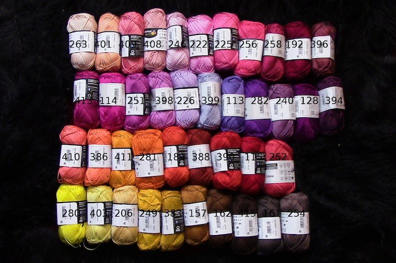 Campionario tutti 100 colori catania cotone filato campioni etsy