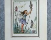 Lavender Flower Fairy Vin...