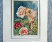 Rose Flower Fairy Vintage...