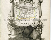 1823 Perrot Map of CALVAD...