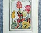 Tulip Flower Fairy Vintag...