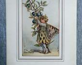 Sloe Flower Fairy Vintage...