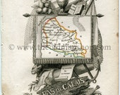 1823 Perrot Map of Pas-de...