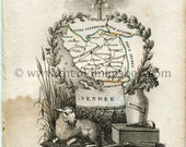 1823 Perrot Map of Vendé...