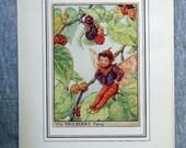 Mulberry Flower Fairy Vin...