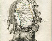 1823 Perrot Map of CHER, ...