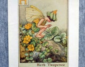 Herb Twopence Alphabet Le...