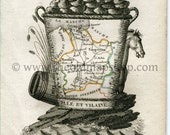 1823 Perrot Map of Ille-e...