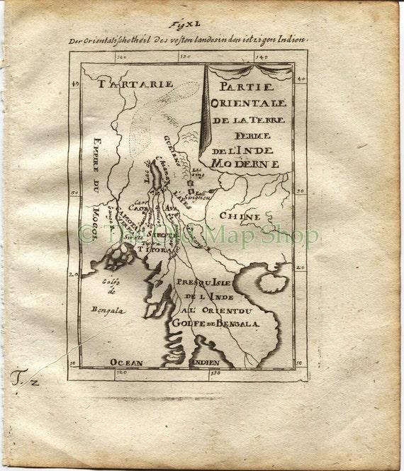 Novaya Zemlya 1719 Manesson Mallet Nouvelle Zemble North Russia Arctic Antique Map Barents /& Kara Seas Print