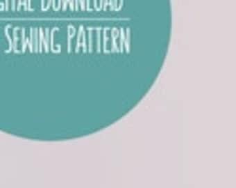 Dinosaur Plushie Pattern, PDF Sewing Pattern, T-Rex Sewing Pattern