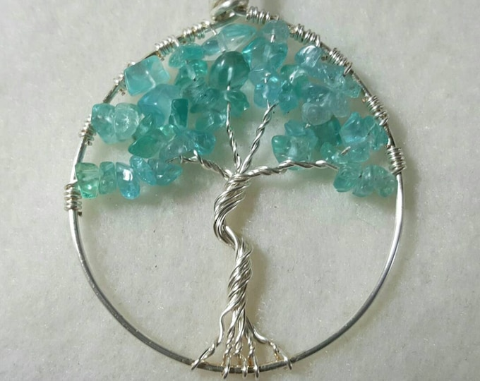 Apatite Tree of Life Necklace