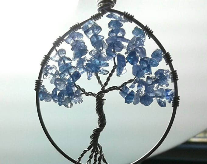 Tanzanite Tree of Life Necklace, Gemstone Tree of Life, Tanzanite Necklace, Gemstone Necklace, Gift for Her