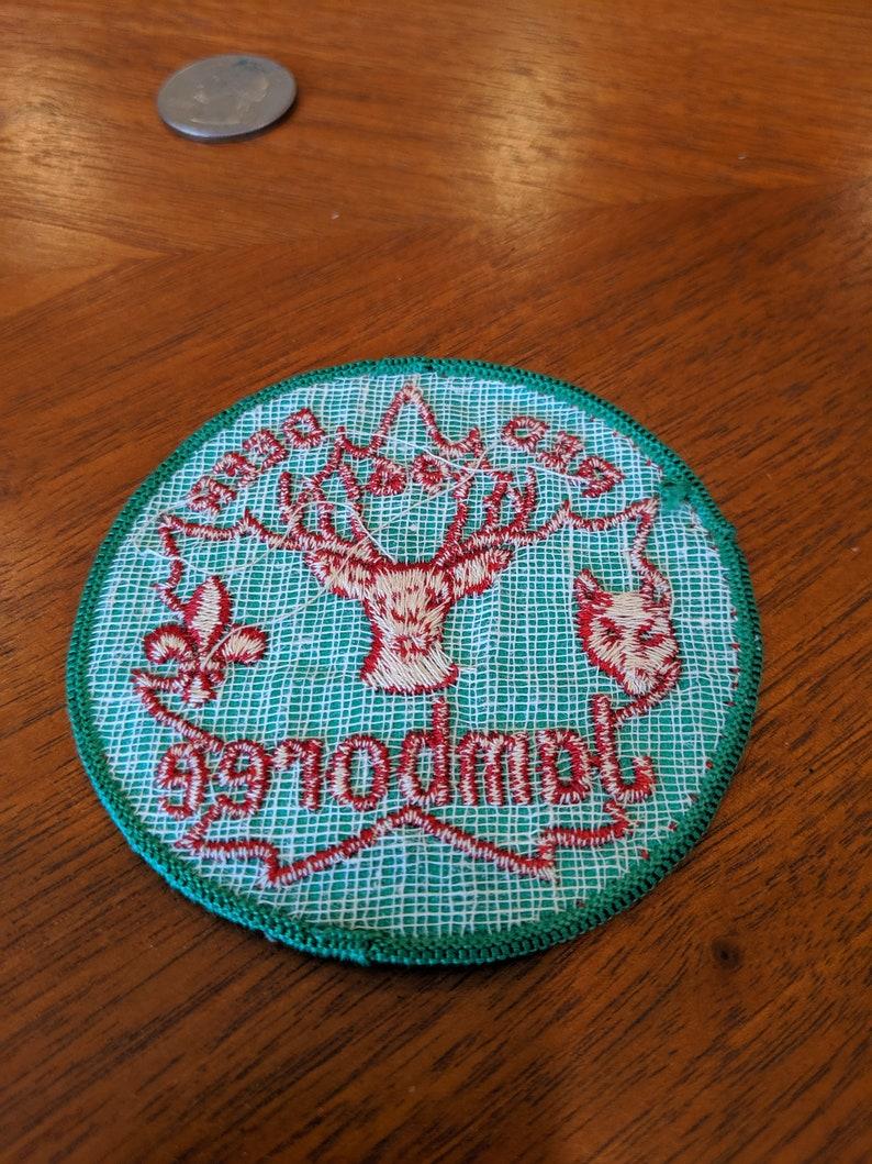vintage 1961 Red Deer Jamboree patch
