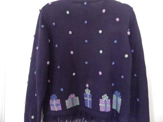 Vintage Christopher & Banks Cardigan Sweater Hand… - image 4