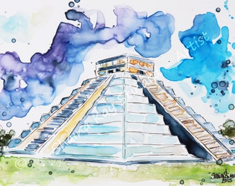 SALE! 50% OFF Custom Watercolor Travel Sketches from YOUR photos / people, places or pets