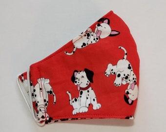 Childrens' Fun Fabrics Face Masks - Child/Youth  8x4.5 inch- Preshrunk Cotton