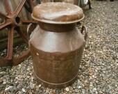 G W Ishmael Small Milk Churn, Vintage.
