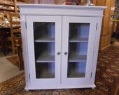 Vintage Glazed Bookcase