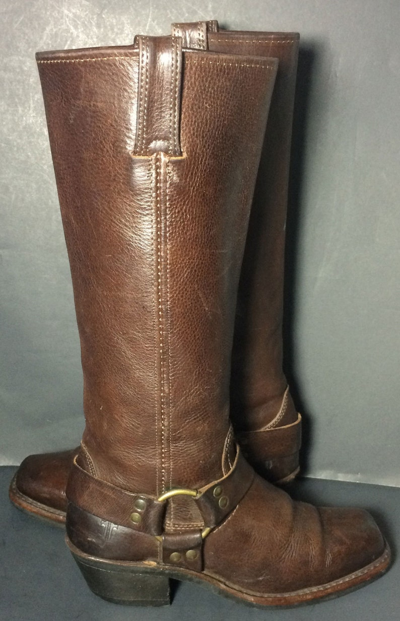 Women/'s Frye Boot 77329 TAN Harness 15R Tan
