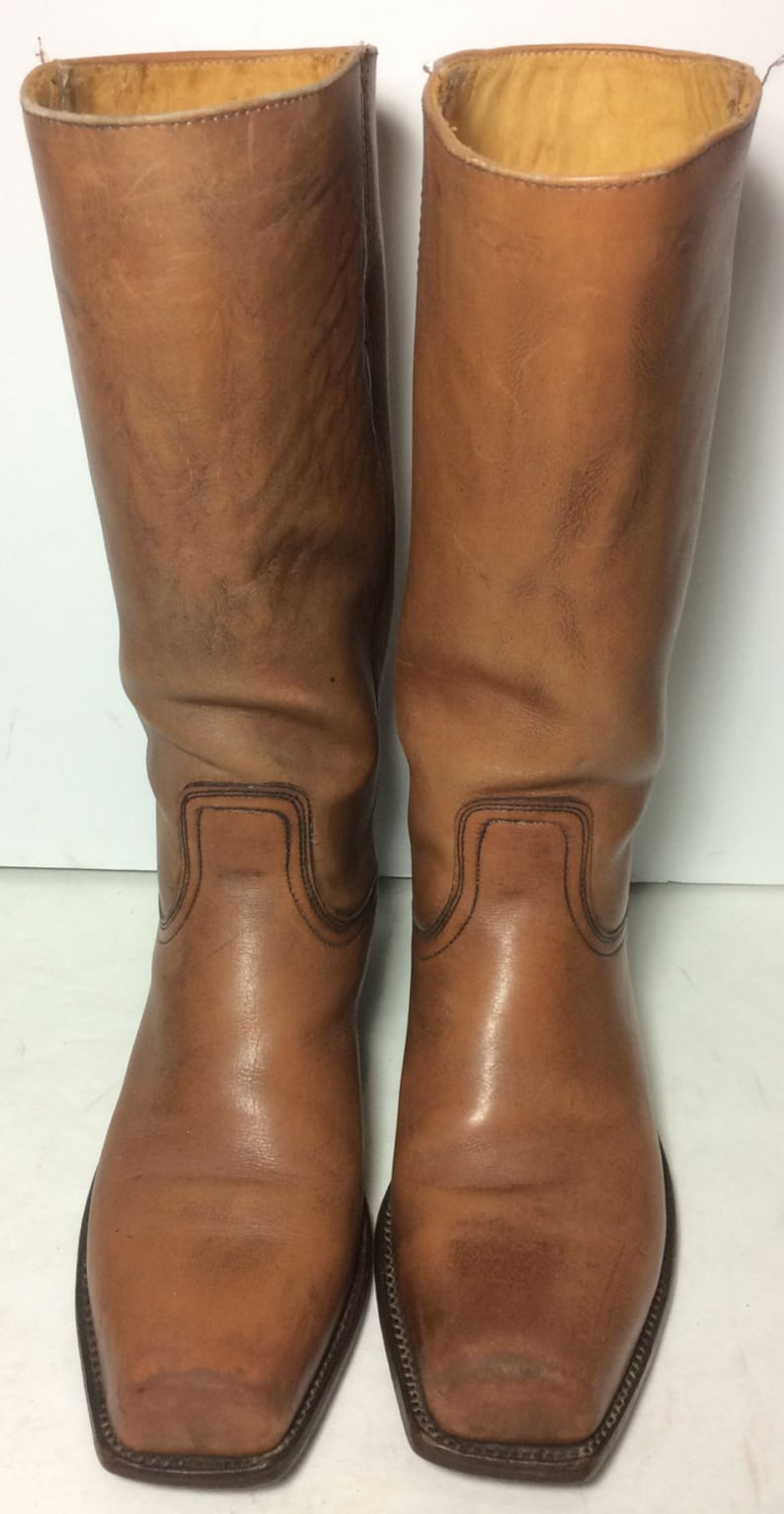 6c0aed34464e 8.5 us 41.5 euro 8 uk Frye 2278 Campus Brown Leather