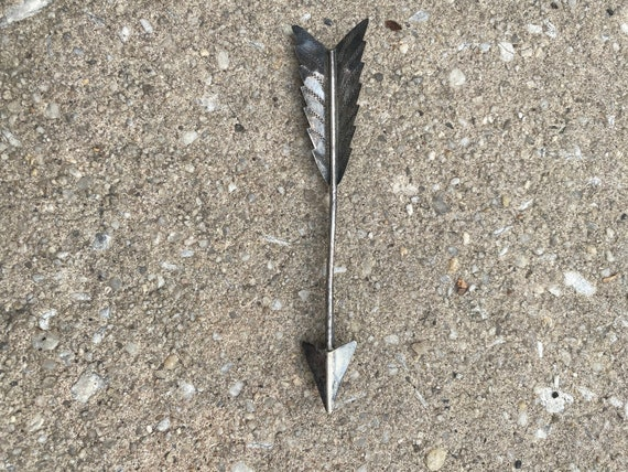 Vintage Sterling Arrow Brooch