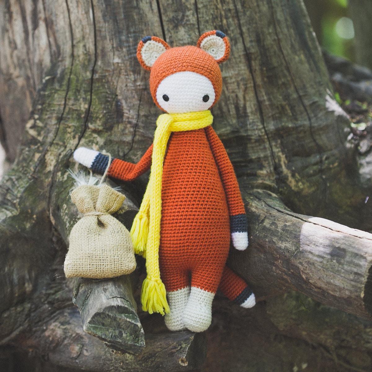 New Pattern - Doll in a Fox Costume – Kristi Tullus   1200x1200