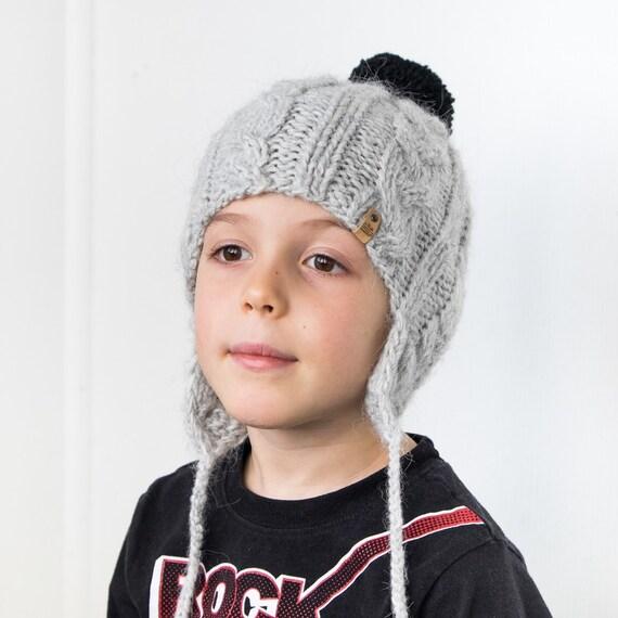 7976881134c9 Les garçons hiver chapeau chapeau dalpaga pour enfant   Etsy