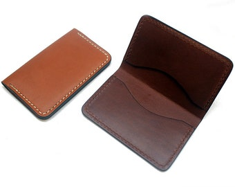 Leather business card holder etsy leather business card holder colourmoves