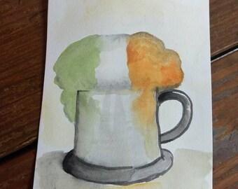 Saint Patrick's Day Irish Beer
