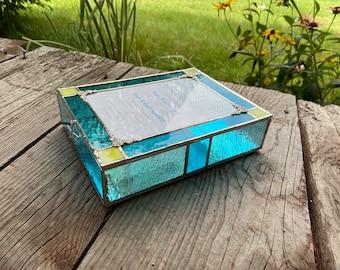 Colorful Invitation Box for Bat Mitzvah or Wedding - Square Corners