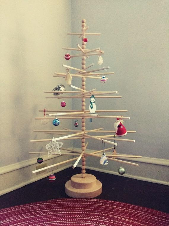 4 Ft Christmas Tree.3 And 4 Ft Beaded Wood Christmas Tree Modern Minimalist Christmas Tree