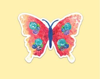 Butterfly Skull Insect Kitchen Refrigerator Locker Button Magnet