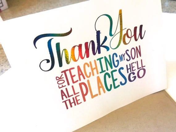 Teacher thank you card teacher appreciation note card thecheapjerseys Gallery