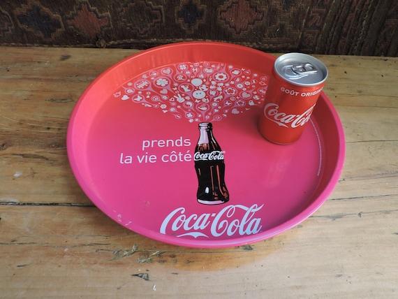 Classic Vintage Coca Cola Design Serving Tray Drinks Tray Pub Bar Kitchen