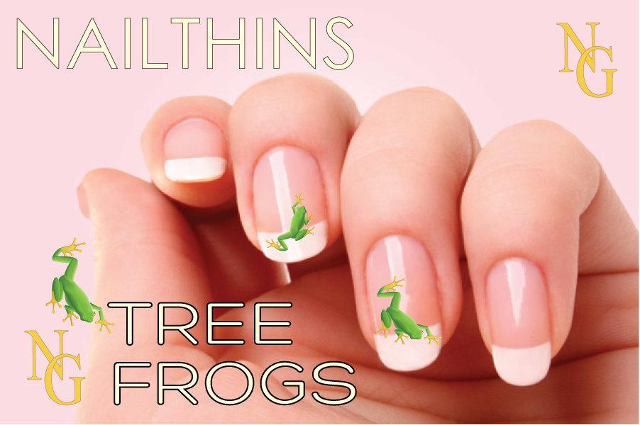 TREE FROG Nail Decal Nail Art NAILTHINS nail design