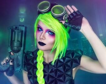 Neon Green A4 print