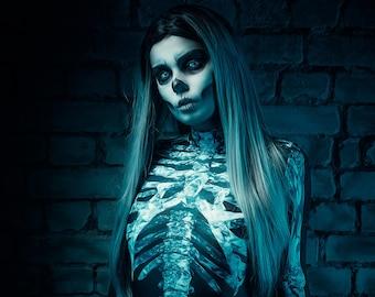 Skeleton A4 print