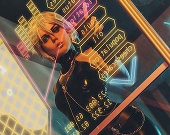 Cyberpunk A4 print
