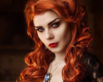 Redhead A4 print