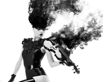 Black Violin A4 print