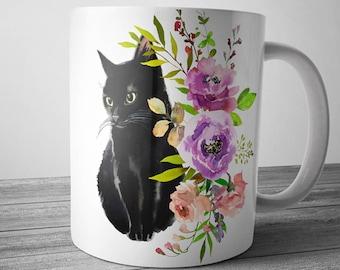 Black Cat Gifts Etsy