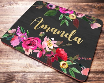 personalized mouse pad etsy