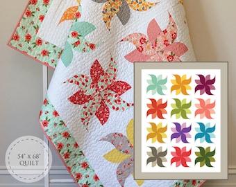 Tumbleweeds Quilt Paper Pattern