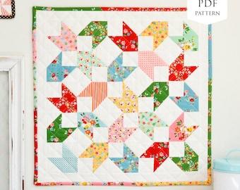 Backyard Chicks Mini Quilt PDF Pattern