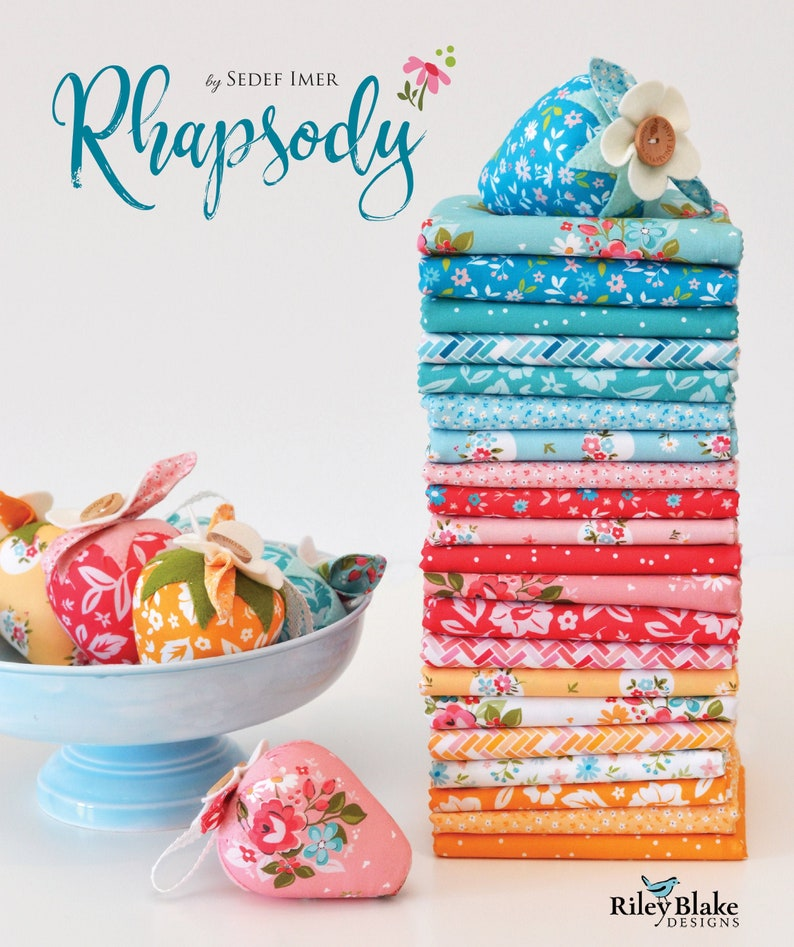 Rhapsody   FAT QUARTER bundle  20 Pieces  Riley Blake image 0