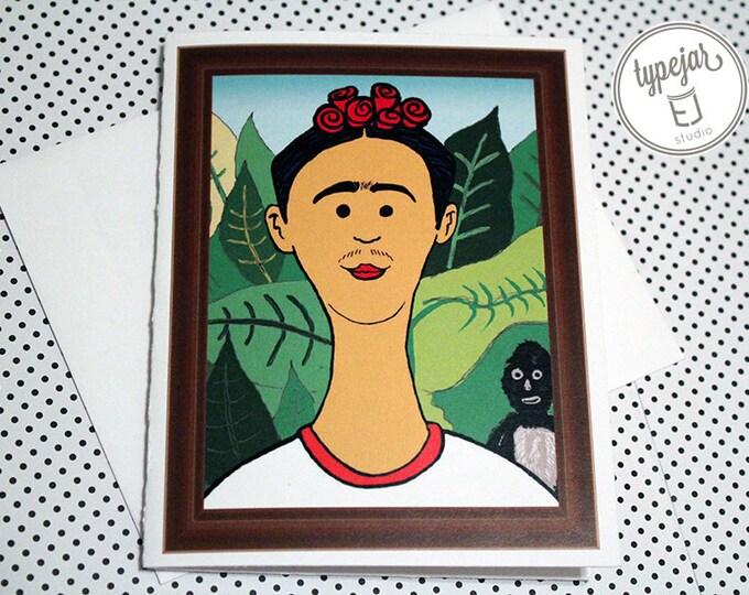 Frida Kahlo Valentine Card (4.25 x 5.5 inch)
