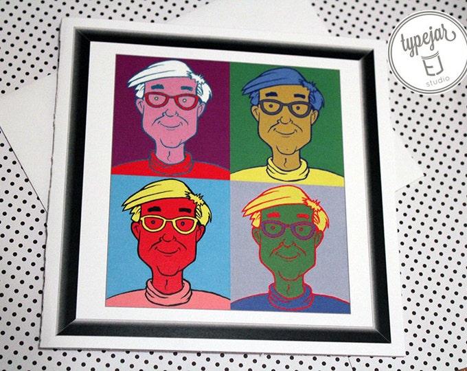 Andy Warhol Valentine Card (5.5 x 5.5 inch)