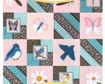 Anita Goodesign Spring Quilt Embroidery Design