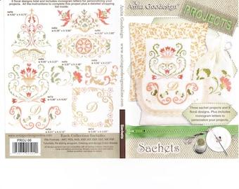 Sachets Anita Goodesign Embroidery Designs