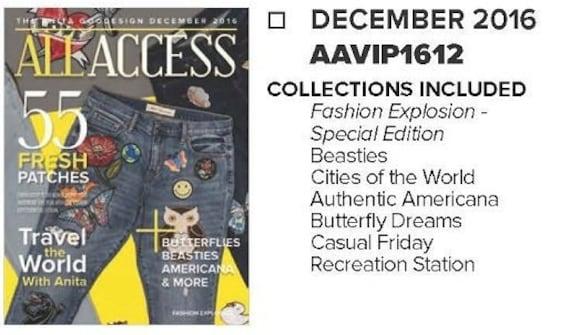Anita Goodesign All Access VIP Club NOVEMBER 2018 Cd ONLY